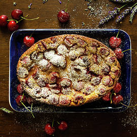 Cherry Clafoutis by Margaret Goodwin