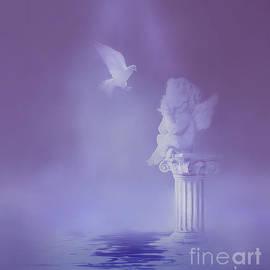 KaFra Art - Cherub and Dove