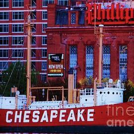 Chesapeake Lightship, Baltimore by Marcus Dagan