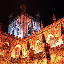 Chester Cathedral in England by Derrick Neill