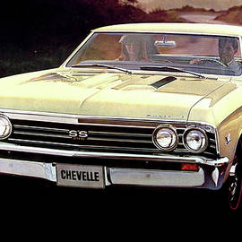 Chevelle SS 396, by Chevrolet by Thomas Pollart