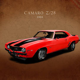 Chevrolet Camaro Z 28 by Mark Rogan