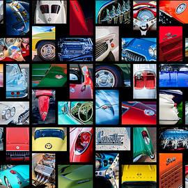 Chevrolet Corvette Art -01 by Jill Reger