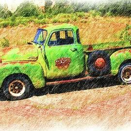 Chevrolet Pick Up Model 3600 by Douglas Settle