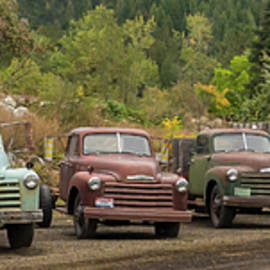 Chevy Line Up by Jean Noren