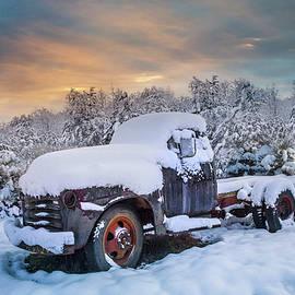 Debra and Dave Vanderlaan - Chevy Pickup Truck in the Snow