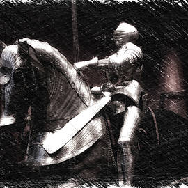 Thomas Woolworth - Chicago Art Institute Armored Knight And Horse PA 01