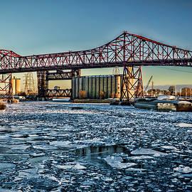 Sven Brogren - Chicago Bridges over the Calumet River