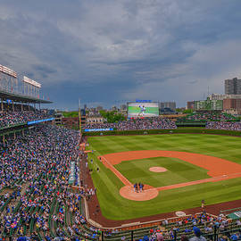 Chicago Cubs Wrigley Field 5 8228 by David Haskett II
