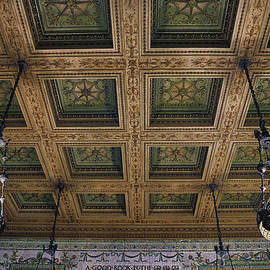 Thomas Woolworth - Chicago Cultural Center Staircase Ceiling