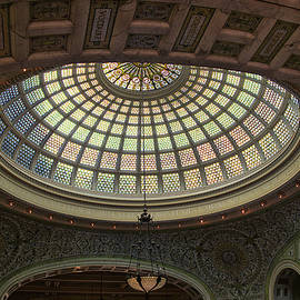 Thomas Woolworth - Chicago Cultural Center Tiffany Dome 01