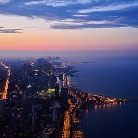 Chicago Gold Coast Night by Kyle Hanson