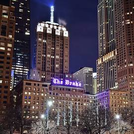 Chicago Hotel The Drake by Frozen in Time Fine Art Photography