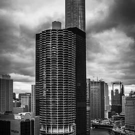 Chicago River under Storm Clouds - Andrew Soundarajan