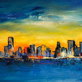 Elise Palmigiani - Chicago Skyline