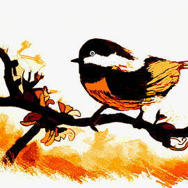 Debra Lynch - Chickadee On A Sunny Day