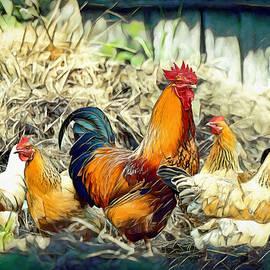 Pennie McCracken - Chickens