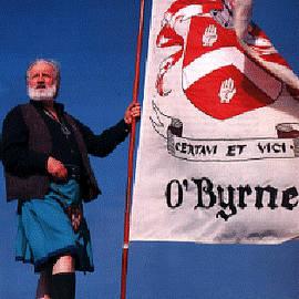 Chieftain Clan O'byrne by Val Byrne