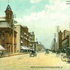Chillicothe Ohio Vintage Color Postcard Circa 1910  by Charles Robinson