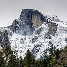 Chilly Half Dome by Jack Peterson