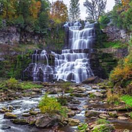 Chittenango Falls by Mark Papke
