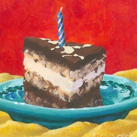 Chocolate Birthday Cake by Cheryl Emerson Adams