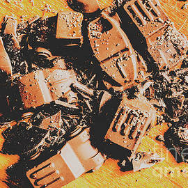 Chocolate demolition derby - Jorgo Photography - Wall Art Gallery