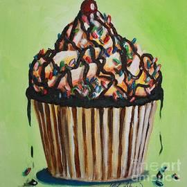 Chocolate Sundae Cupcake by Misha Ambrosia