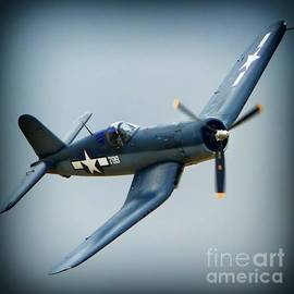 Chris Fahey and Chance Vought Corsair No.799
