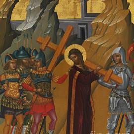 Christ Bearing the Cross - Greek School