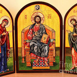Ryszard Sleczka - Christ in Majesty