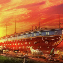 Christian - Noah's Ark - The beginning by Mike Savad