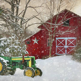Christmas at the Barn by Lori Deiter