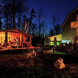 Christmas At The Billy Graham Library by Jill Lang