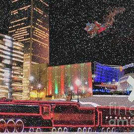 Janette Boyd - Christmas Eve in Downtown Tulsa
