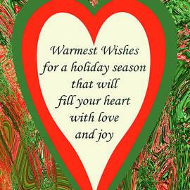 Christmas Heart Greeting