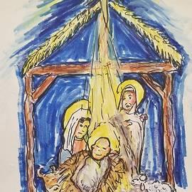 Christmas in the Manger