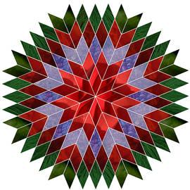 Terry Davis - Christmas Mandala