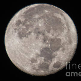 Christmas Moon 2015 by Bob Hislop