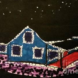 Ishy Christine MudiArt Gallery - Christmas Night