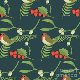 Christmas Robin - Claire Huntley