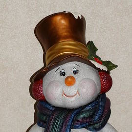 Christmas Snowman 2017 by Joseph Baril