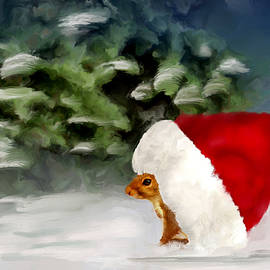 Mary Timman - Christmas Squirrel