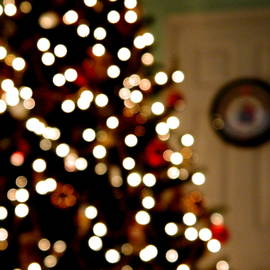 Christmas Tree Bokeh  by Arlane Crump