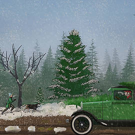 Ken Morris - Christmas Tree Hunters