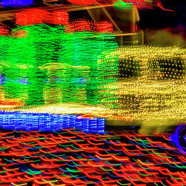 Christmas Truck Abstract - Garry Gay