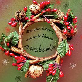 Judi Saunders - Christmas Wreath