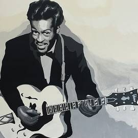 Chuck Berry by Ken Jolly