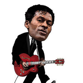Chuck Berry by Kevin Sweeney