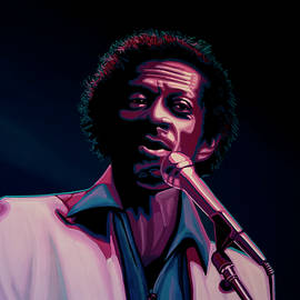 Chuck Berry by Paul Meijering